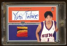 2004 SKYBOX YUTA TABUSE RC AUTO PATCH LOGO SP /25  BEAUTIFUL PATCH AUTOGRAPH