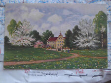 Schlossgarten Degi Öldruck Hoy Gemälde Kunst Postkarte Ansichtskarte 3459