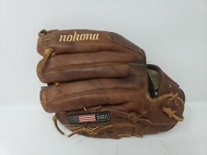 "Nokona Leather American Made Baseball Glove 11.5"" WB-1150 Right Hand Throw"
