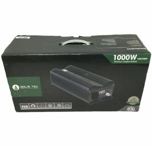 Solis Tek Digital Electronic Ballast | SE/DE Compatible | Model STK-1000 | New