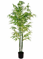 5ft /158cm Artificial Bamboo Tree Large Faux Plant Decor Potted Home Office