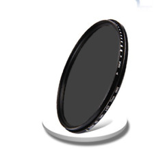 New 52mm/55mm/58mm Adjustable Neutral Density Fader filter ND2-400 For Cuely