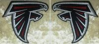 """Atlanta Falcons 3.5"""" Sleeve Set Iron On Embroidered Patch ~US Seller~"""