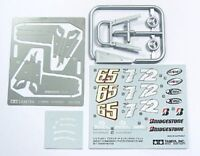 Ducati Desmosedici Motorcycle Photo-Etched Detail Set w/Decals 1/12 Tamiya