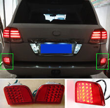 Rear Fog Light Tail Lamp Modified LED Fit Toyota Land Cruiser LC200 08-15 USA