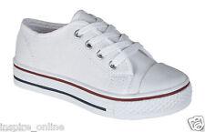 kids white plimsolls | eBay