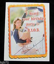 Leanin Tree Birthday Greeting Card Humor Funny Multi Color Notelet Series N1