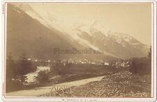 Chamonix Mont Blanc Photo Tairraz Vintage albumine ca 1880