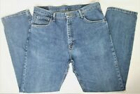 Wrangler Mens Regular Fit Jeans 36 x 32 Medium Wash 9TRGAMS