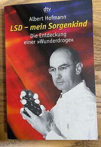 SIGNED MOLECULE DRAWING OF LSD BY ALBERT HOFMANN LSD MY PROBLEM CHILD NEAR MINT