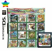 208 in 1 Game Cartridge Multicart Game Card Super Combo For Nintendo DS/3DS