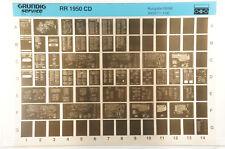 Grundig Service RR 1950 CD Radiorekorder Radio Cassette Microfiche 1994 K173