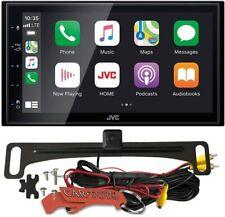 "Jvc Kw-M56Bt Apple CarPlay Aa 6.8"" Sxm Ready Car Stereo Receiver w Backup Camera"