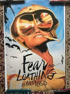 Fear and loathing in las vegas poster Johnny Depp