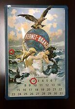 Fernet-Branca Spirit Calendar Metal Pub Alcohol Wall Decor Sign 30x20 Cm
