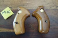Taurus 85 .38 Special Factory Wood Grips With Mounting Screw Awesome Small Frame