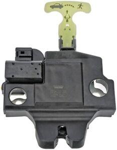 Trunk Lock Actuator Motor Dorman 931-860 fits 07-11 Toyota Camry