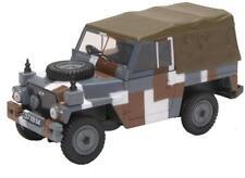 Oxford Diecast 43lrl004 Land Rover Lightweight Canvas Back Berlin Scheme 1 43