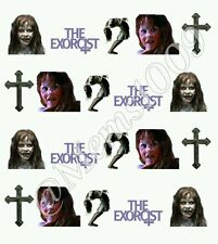 The Exorcist Nail art decals! Horror Film Nail Decals (Water Decals)
