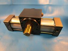 Parker, Taiyo, Tra-1A, Sd63T90-Cf2, Rack-And-Pinion Rotary Actuator Model