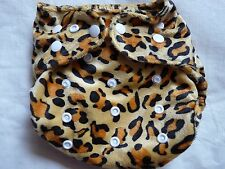 New Minky Leopard Cloth Diaper Cover Double Gusset FlipThirstieBummis PUL EB22