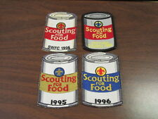 Scouting For Food Can Shaped Patches Lot of 4       cjp x1