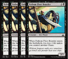 Fathom Fleet Boarder NM x4 Rivals of Ixalan Black Common