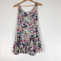 Free People Floral Tunic Sz 0