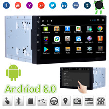 """7"""" 2Din Android 8.0 Touchscreen Auto Stereo GPS Radio 8-Core RAM:2G ROM:32G DTV"""