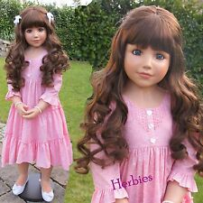 Masterpiece Dolls, Crystal, Brown Hair Blue Eyes, Monka Peter-Leicht 46""