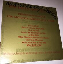 THE MORMON TABERNACLE CHOIR HOLLY AND THE IVY COLUMBIA RECORDS 5592 EX