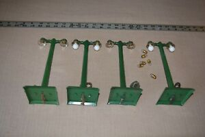 Vintage Original American Flyer AF 233 Dual 4 Lamp Posts Prewar for Layout