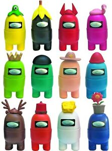 12 PCS /Set Among Us Action Figures Collection Dolls Game Toys Gift Decoration