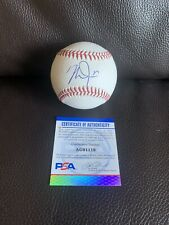Mike Trout Signed Official MLB Baseball PSA/DNA Coa RARE