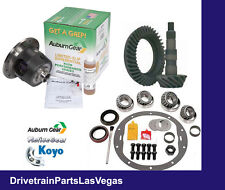 "Auburn Posi Package GM 7.5"" 3.73 Ratio Gear Set Master Bearing Kit 26 Spline"