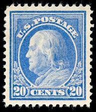 momen: Us Stamps #419 Mint Og Xf-Sup