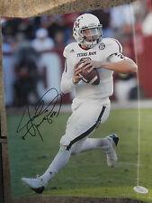Johnny Manziel signed 11x14 Texas A&M Aggies photo 2012 Heisman Jsa Coa Browns