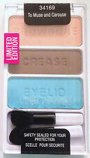 Wet n Wild Eye Shadow Palette Trio # 34169 To Muse and Carouse LIMITED EDITION