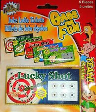 Fake Scratch Off Lottery Lotto Game 5 Tickets Joke Gag Gift Prank Lucky Shot NIB