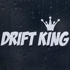 Drift King Auto De Carreras Ventana Parabrisas Body Panel Laptop calcomanía pegatina de vinilo