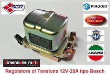 8671 - REGOLATORE di TENSIONE SGR 12V-25A per PIAGGIO Ape Pentarò dal 1960 >