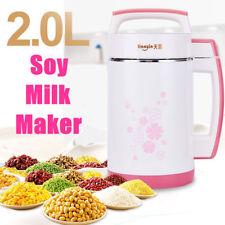 2L Cereal Soybean Soup Hot Soymilk Machine Vegetable Juice Creams Maker 800W