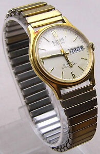 DUFONTE LUCIEN PICCARD Automatic Men's Watch 17 Jewels Beautiful Gift Idea WORKS
