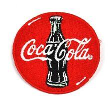 Coca-Cola Coke USA Bügelflicken Aufnäher Emblem Patch Flaschen Logo 6 cm