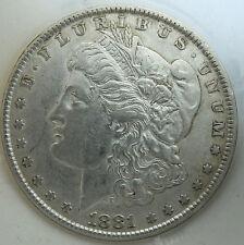 Usa   One Dollar 1881  Silver Morgan  Very Nice Coin