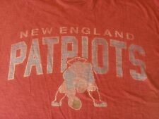 NEW ENGLAND PATRIOTS FORTY SEVEN BRAND T-SHIRT-LARGE