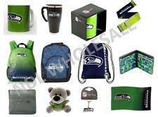 More details for seattle seahawks nfl american football merchandise bag flag mug scarf wallet