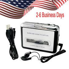 Useful USB Cassette Tape MP3 iPod CD Converter Capture Audio Music Player US