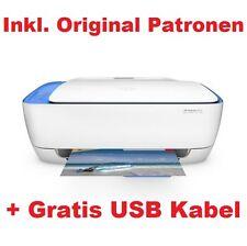 HP DeskJet 3630 / 3636 / 3637 Multifunktionsdrucker Wlan Wifi Airprint + USB Neu