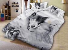 3D Lovers Wolf Bedding Set Duvet Cover Comforter Cover Pillow Case